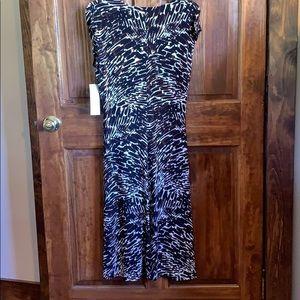 Jones Wear Dresses - Jones Wear Dress Black Multi Day to Dinner Dress 8